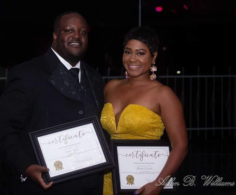 "Jabari Long. ""He's the Boss"" and ""She's the Boss"" awardees.   Allen B Williams Photography"