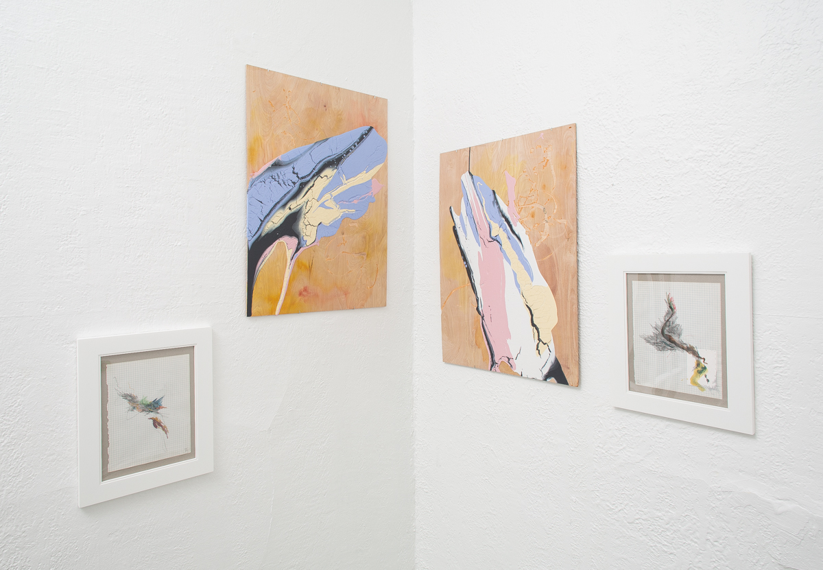 Installation view of Drew Austin's work at DoubleSpace, photography by  Matthew Pevear