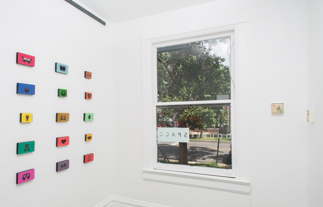 Installation view of  Blot  at DoubleSpace, photograh by  Matthew Pevear