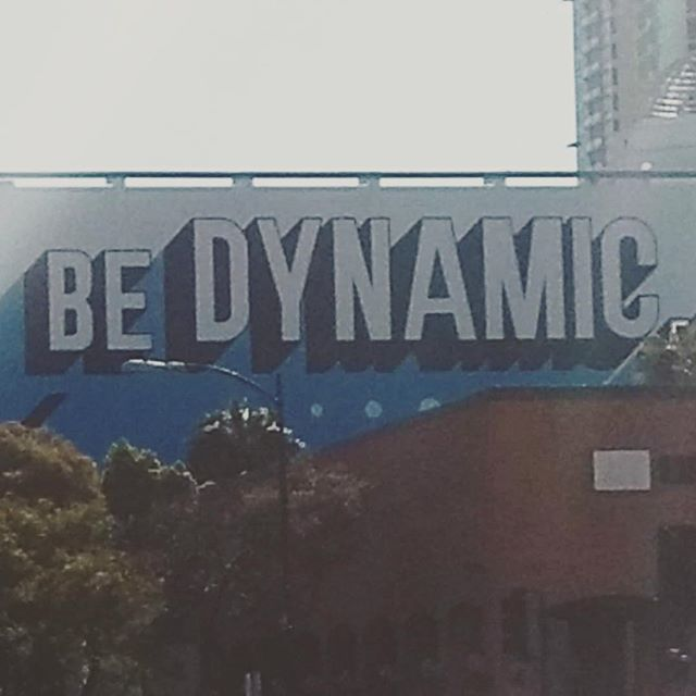 Message of the day! #IHRSA #SanDiego #lookfeelbedynamic