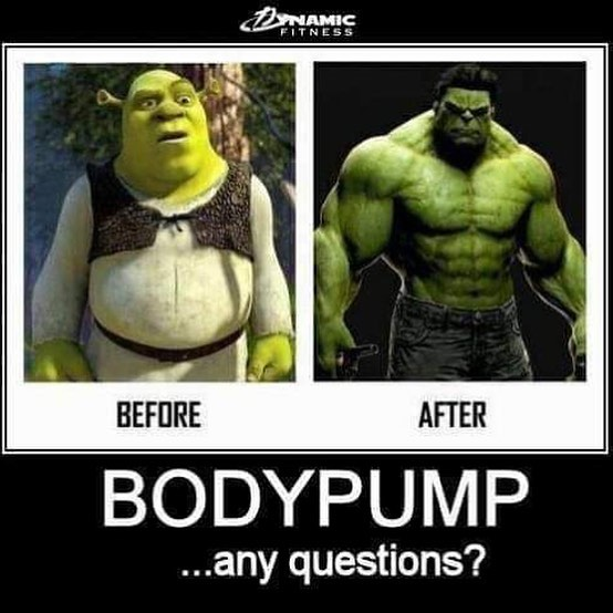 Results may vary. 💪😉