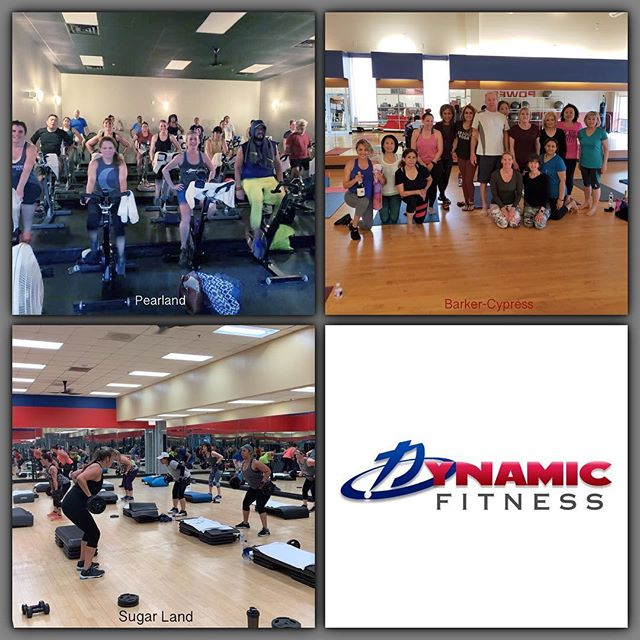 Every location in fullest effect this Saturday morning! . . . #dynamicfitnesshtx