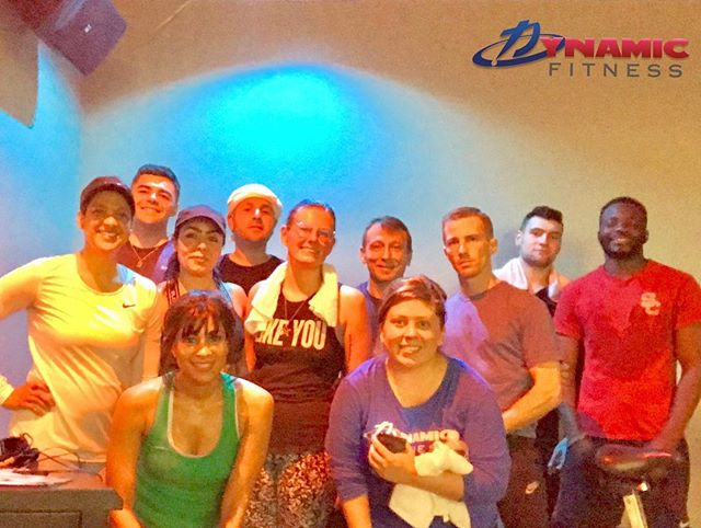 "We're not ""just a gym"", we're a team greater than the sum of our interests. Personal training, team training, group fitness, quality equipment and deluxe amenities under one roof for a caliber of results. #staffteambuilding #LookFeelBeDynamic #dynamicfitnesshtx"