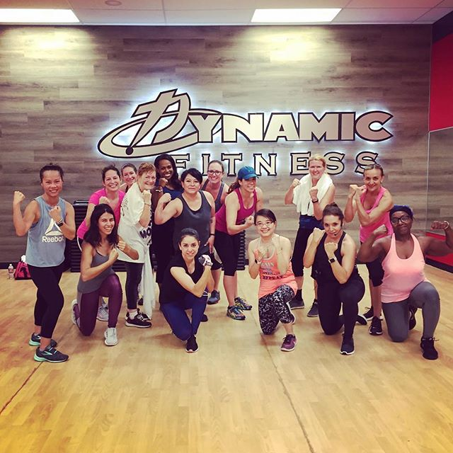 BodyCombat is a whole body non-contact martial arts class offered at all three of our clubs! Develop upper-body agility, core strength, and sports conditioning while building on your self-defense strength! #dynamicfitnesshtx