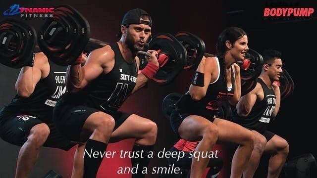 Les Mills BODYPUMP! Great place to start if you're new to strength training. Great place to stay if you're serious about shaping up! 💪