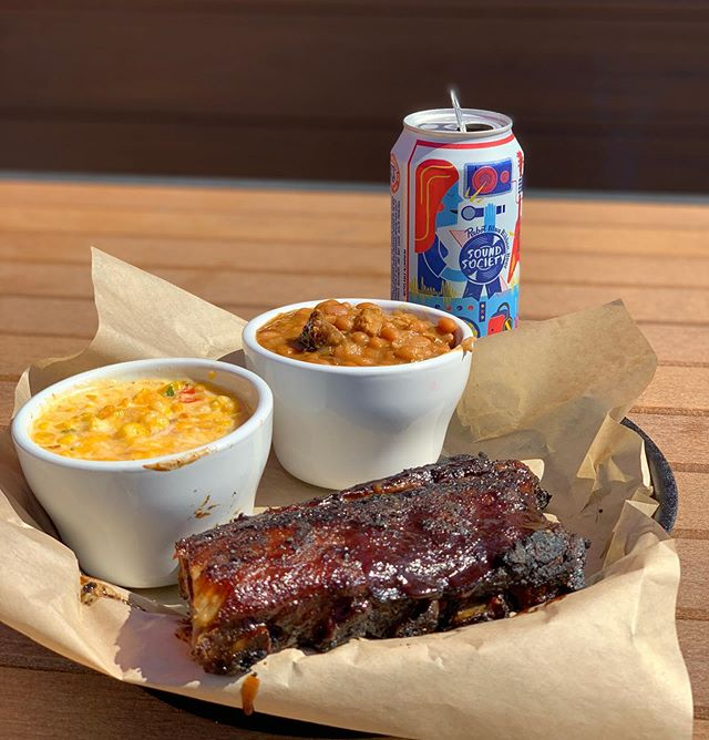 🚨WHAT ARE WE DOIN?! BARBECUIN!🚨Rib special TONIGHT! $13.99 for ribs, cheesy corn, and beans! S'GO!