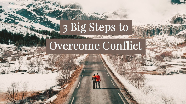 3 big steps to overcome conflict @ www.Relavate.org