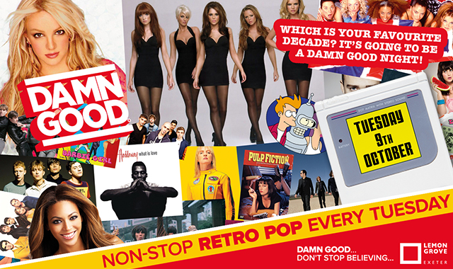 Copy of DAMN GOOD'S... WE LOVE THE 00s VS 90s SPECIAL... - 9 October