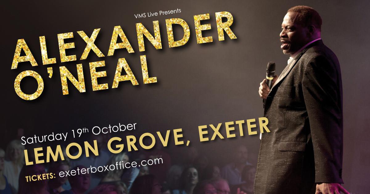 Alexander O'Neal - 19 October