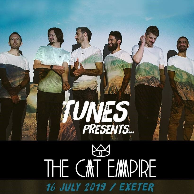 the cat empire — Exeter Box Office