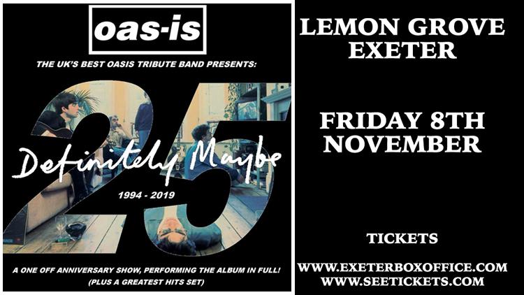 Oas-Is Oasis Tribute - 8 November