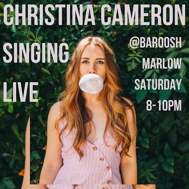 She's baaaaaaaack! @baroosh.marlow this Saturday 8-10pm. Originals & covers... come shake a leg with me 💃🏻 • • • • • • • • • #londonmusic #londonmusician #londonsinger #acoustingsongwriter#londonmusicvenues #emergingartists #londonsongwriter #newmusic #newrelease #femalesingersongwriters
