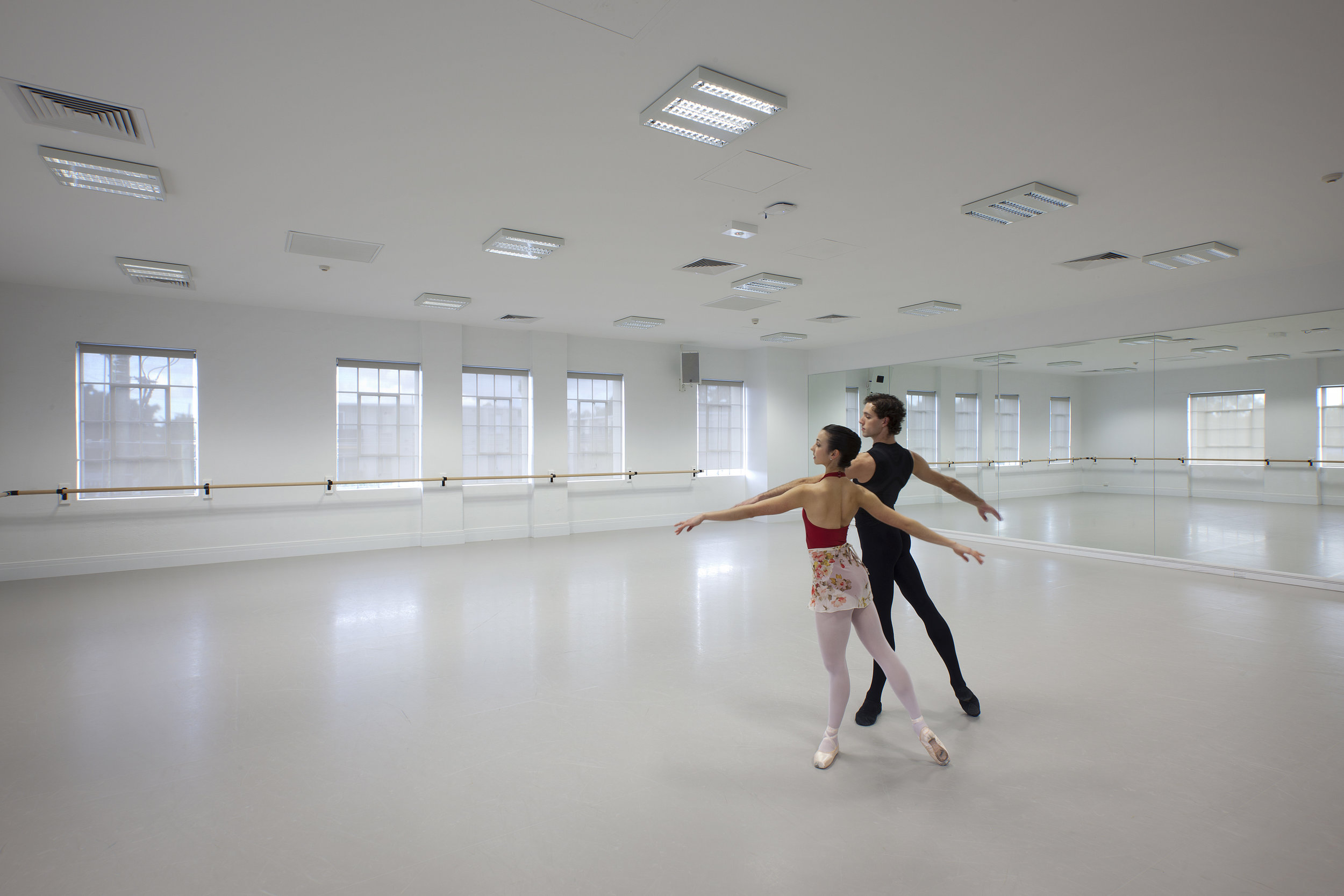 A spring in their step. - In order to prevent dancer injury, we created one of the world's most advanced sprung floor systems – in the 100-year-old section of the building over the original Jarrah timber floor structure. The floor was successfully installed with a large team of consultants, product suppliers and contractors, and the WA Ballet are reporting fewer injuries.