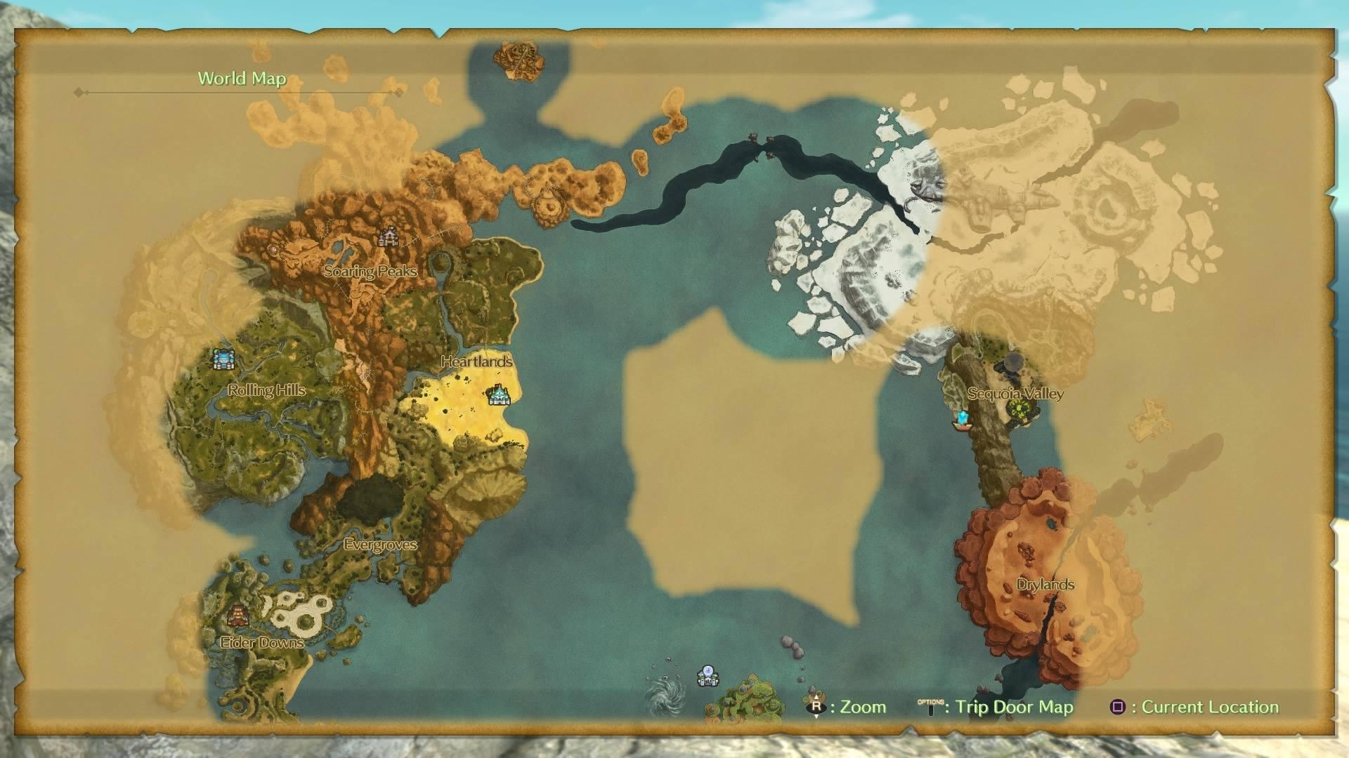Uncharted territory in Ni No Kuni 2 (Bandai Namco)