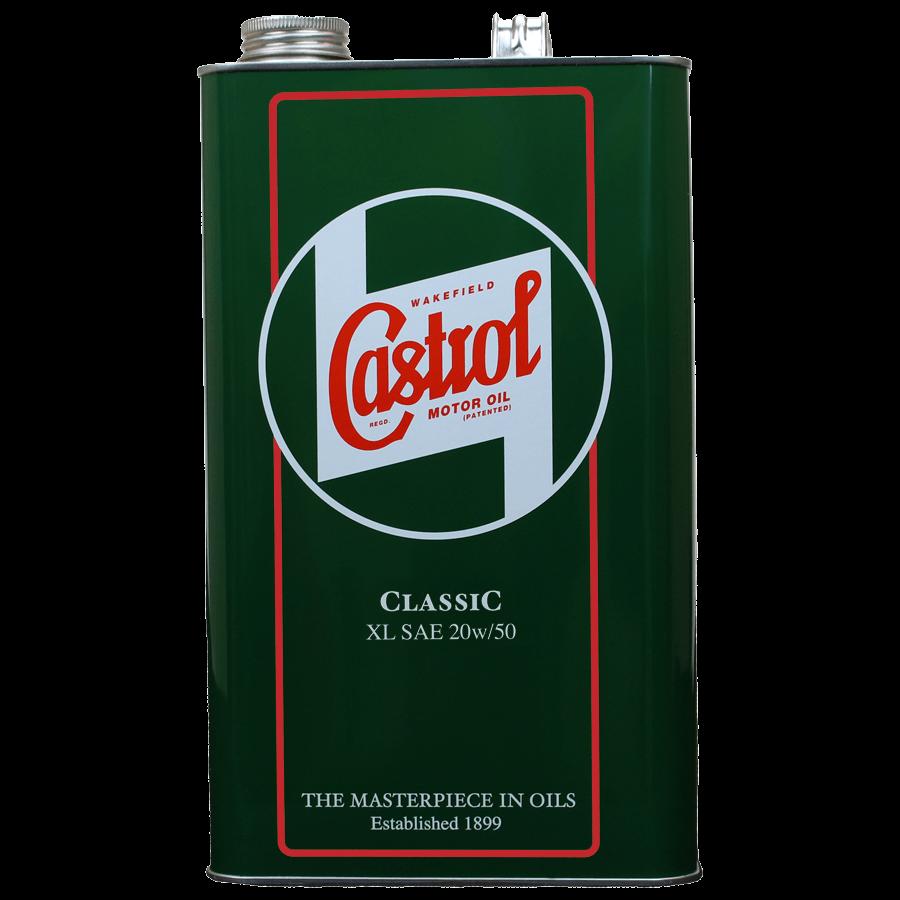 Castrol Classic 20w50, 1 gallon tin