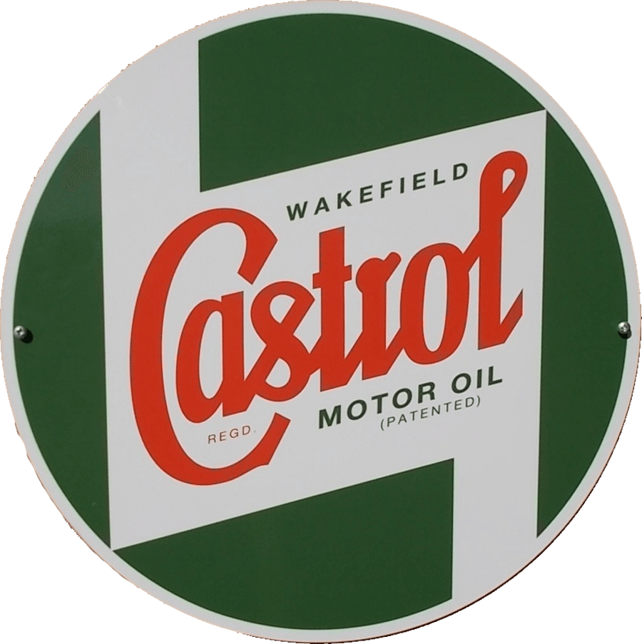 Classic Round sign   A classic style round metal sign, to add that retro feel to your garage or workshop. 400mm diameter, pre-drilled for wall mounting.