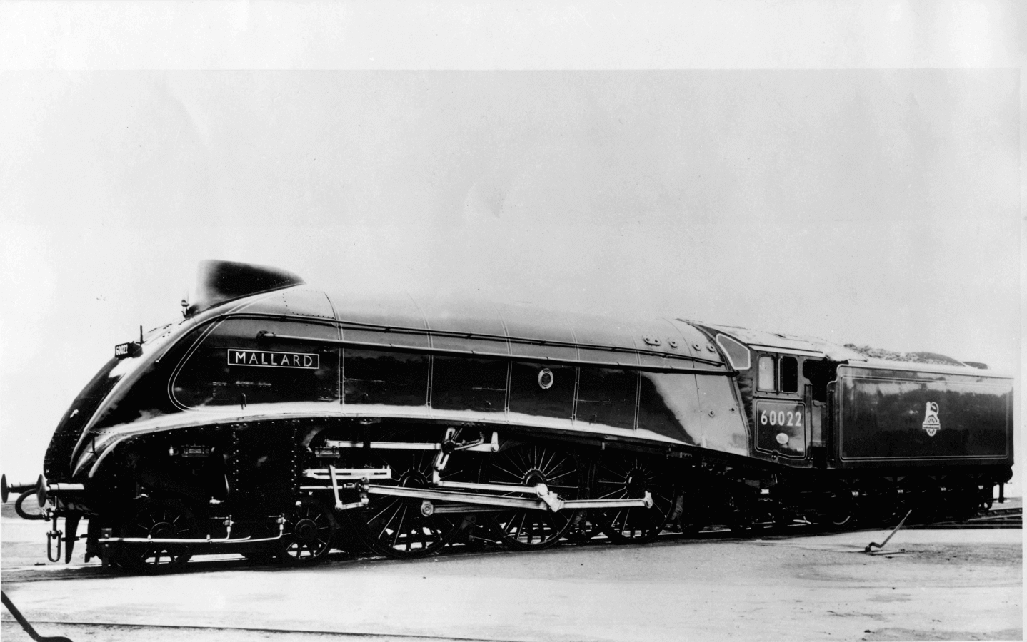 Mallard steam locomotive - has held the record of 128mph since 1938