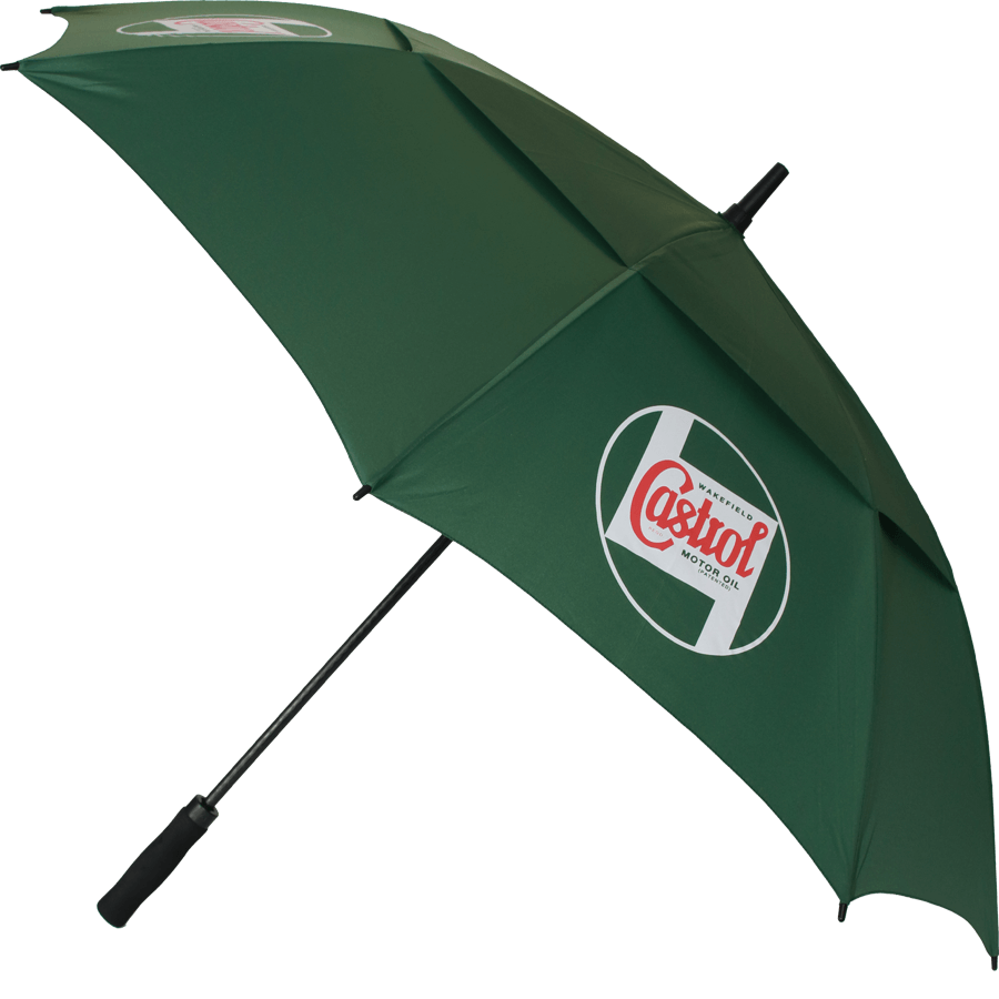 Classic Golf Umbrella   150cm golf umbrella, with vented top canopy, fibreglass frame and push button opening.