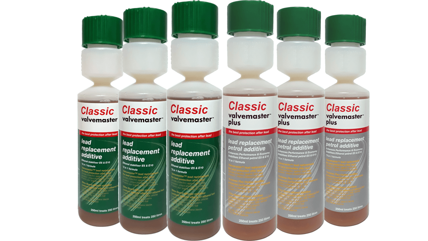 Classic Valvemaster and Classic Valvemaster Plus lead replacement additives