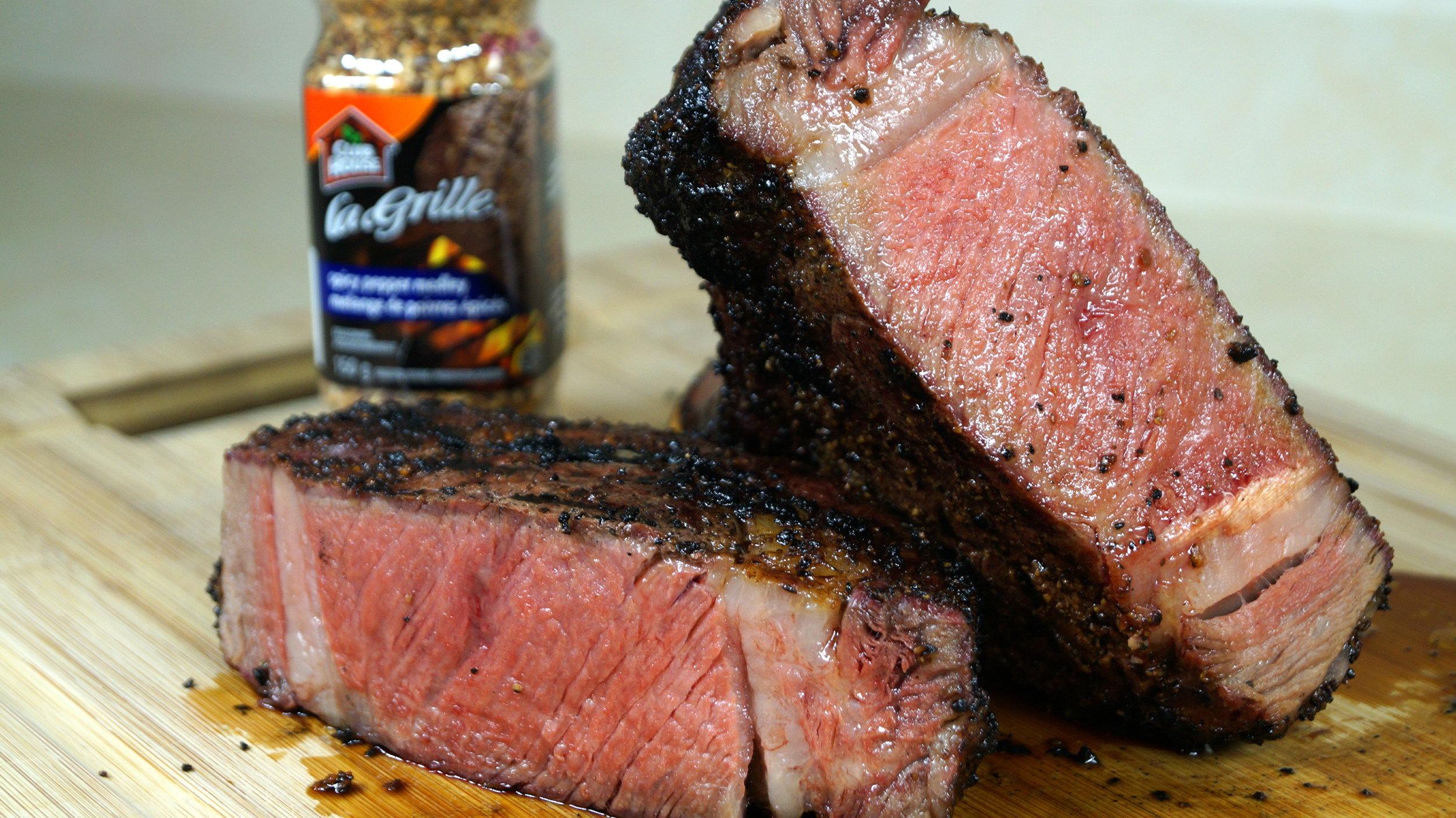 Sear In The Rear Steak