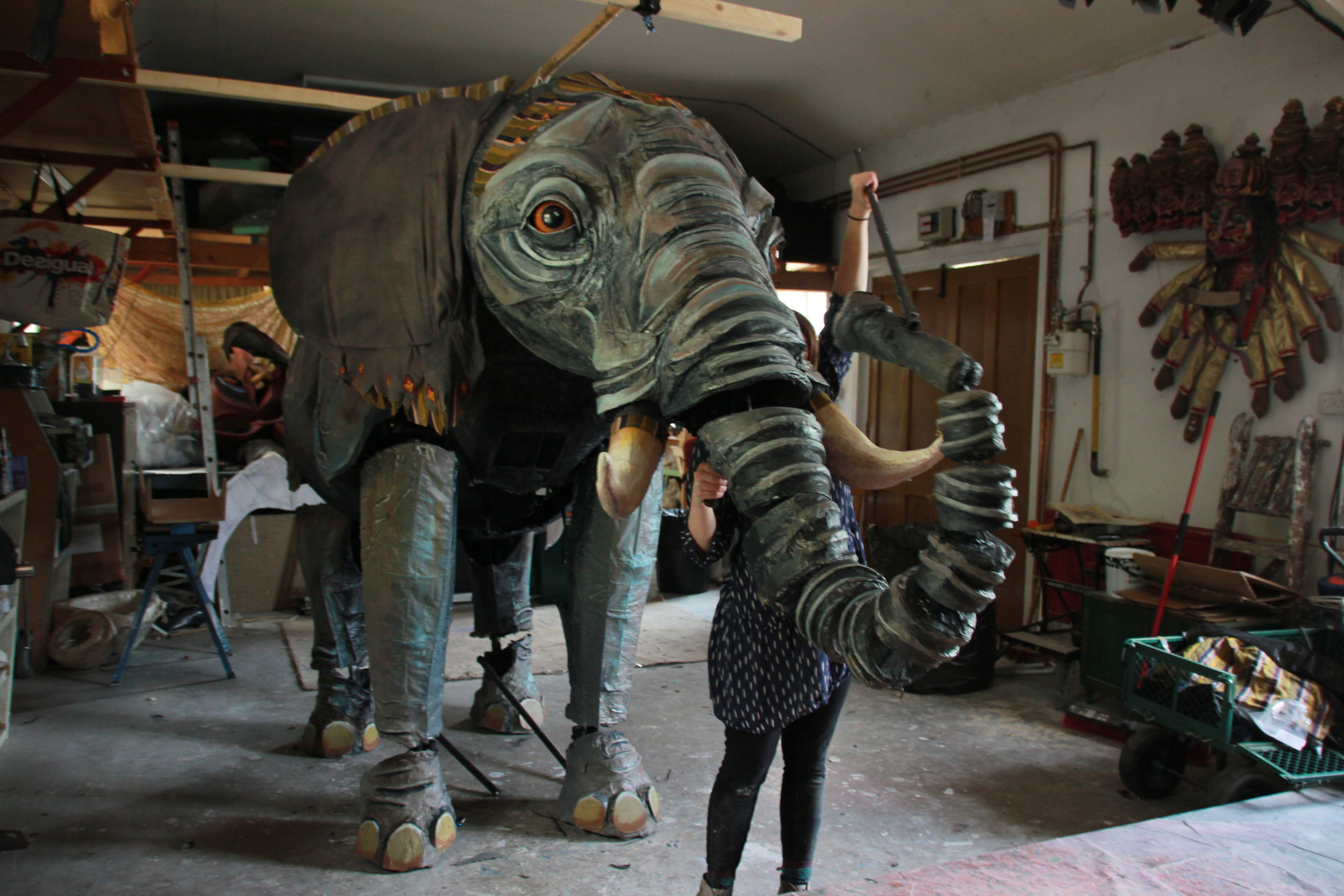 The Elephant Puppet