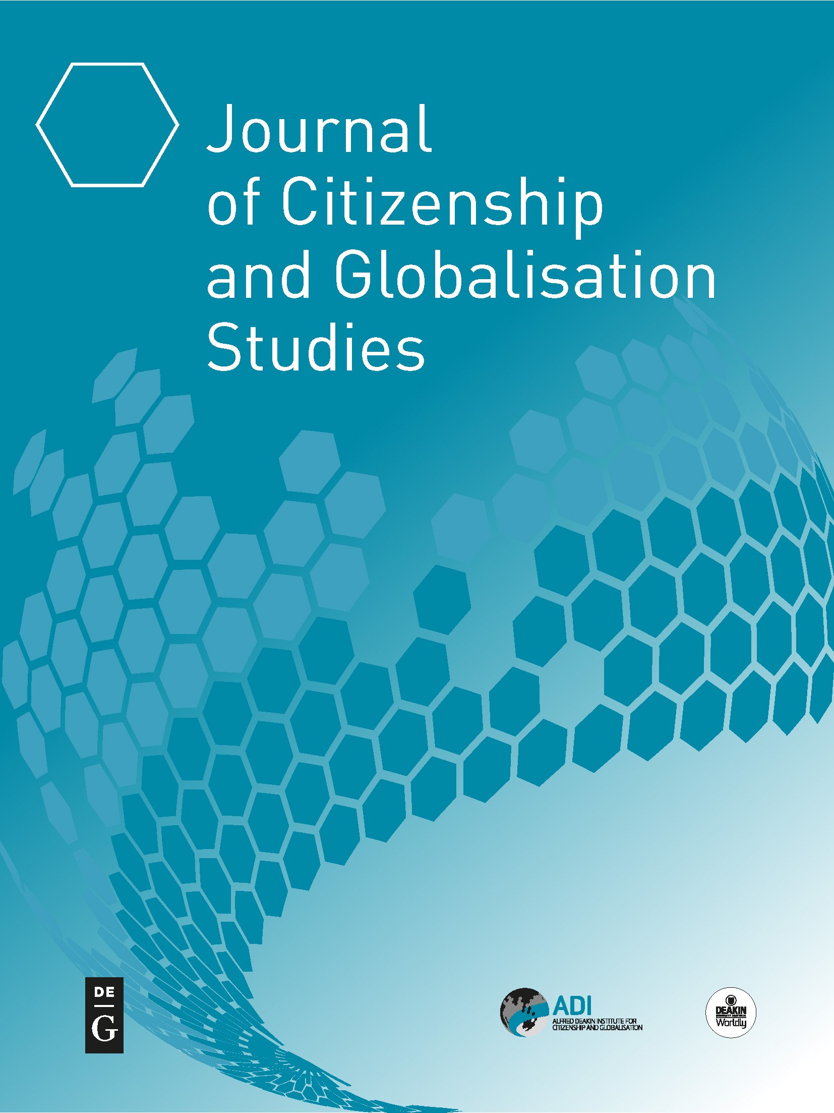 Journals - In addition to the Institute's open-access 'Journal of Citizenship and Globalisation Studies' (JCGS), we are affiliated with a number of high quality academic journals.