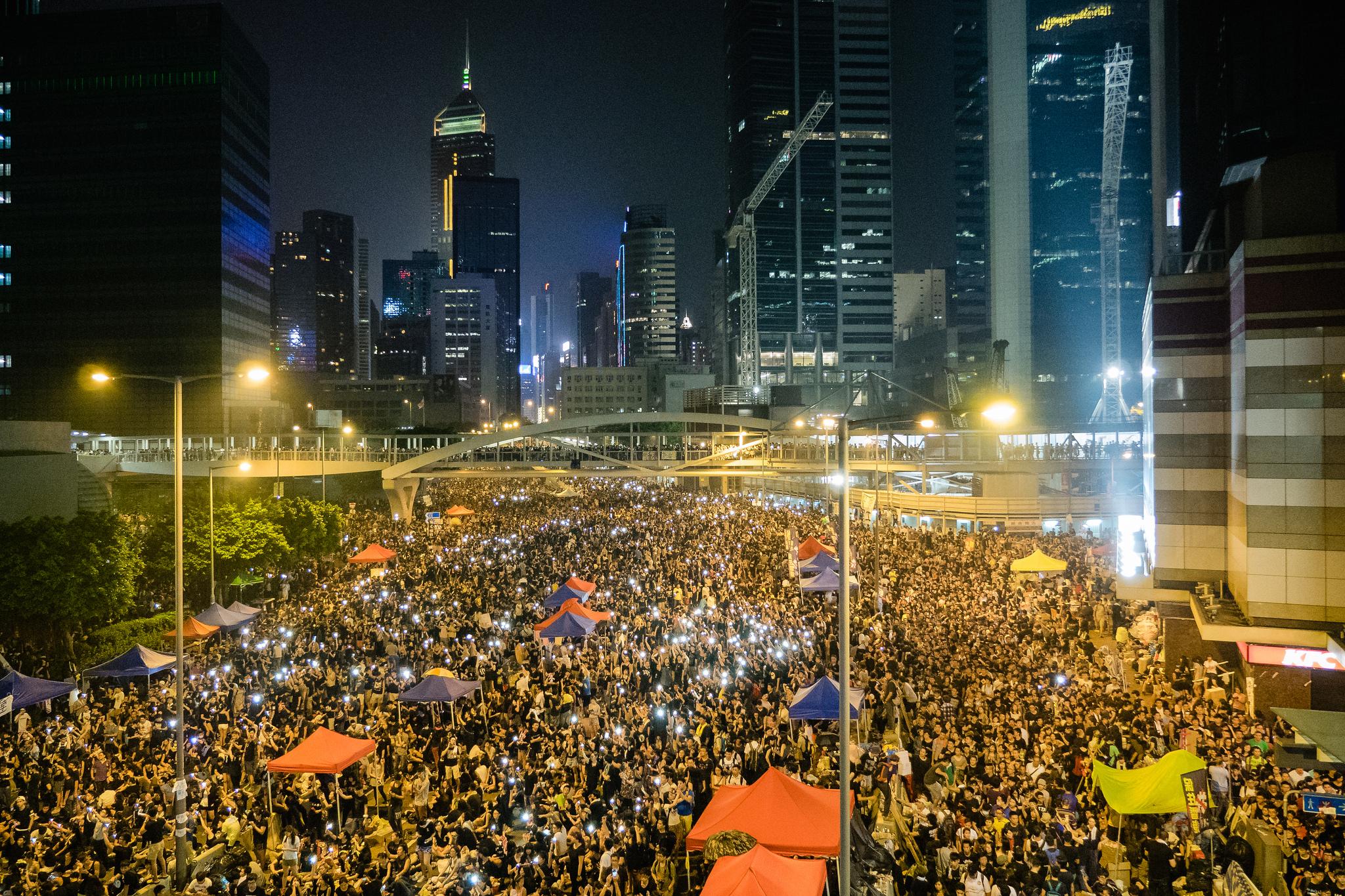 Image:   Hong Kong's Umbrella Revolution         by Studio Incendo     CC BY 2.0