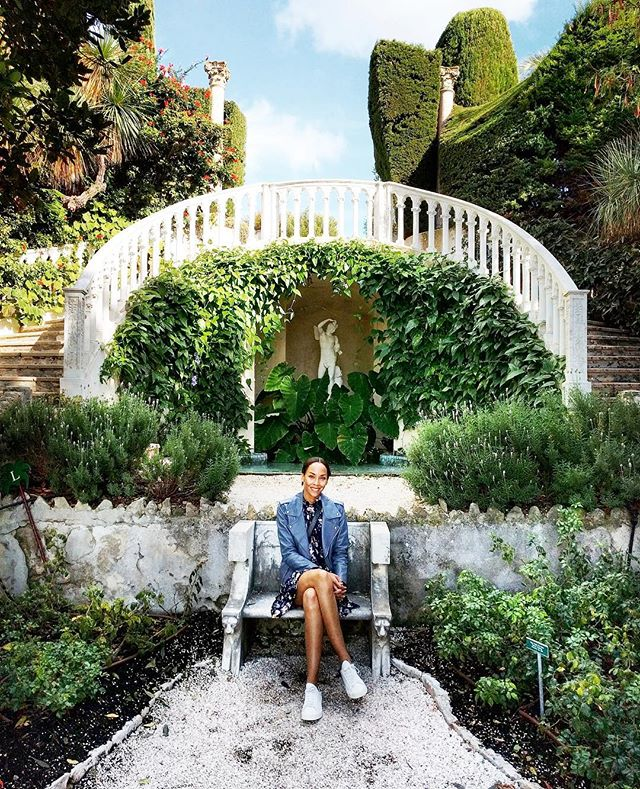 In my element #France #gardenofthegods #saintjeancapferrat #villaephrussiderothschild