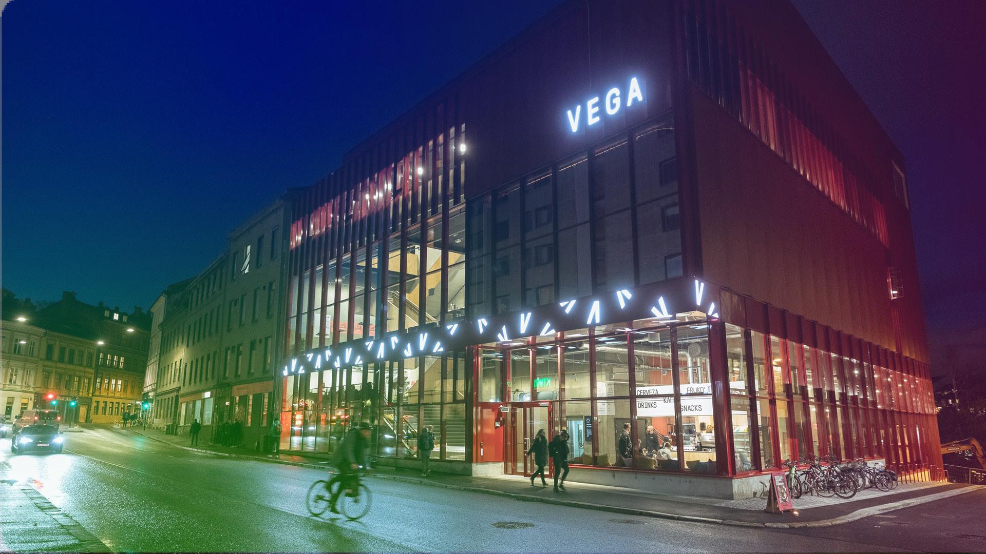 Vega Scene. Foto: Johnny Vaet Nordskog