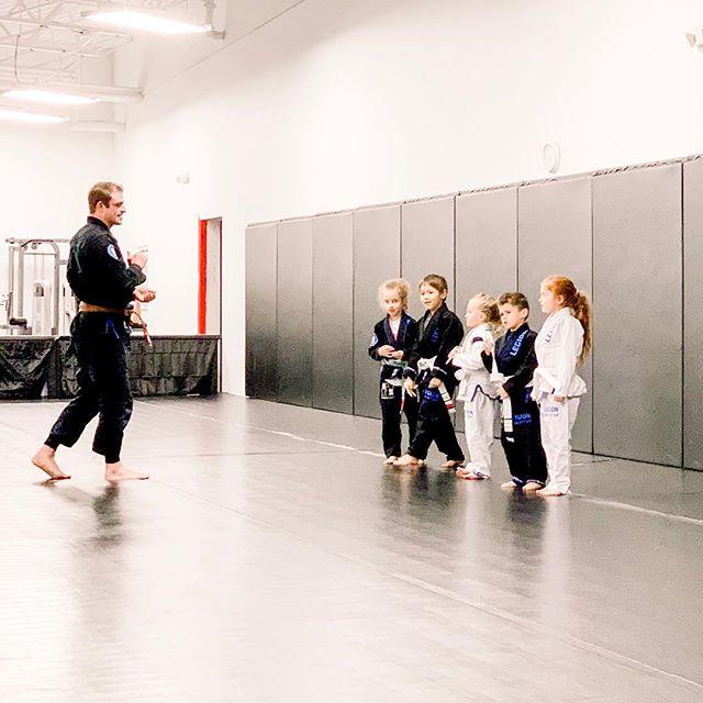 The girls venture into new realms of learning #legionjiujitsu