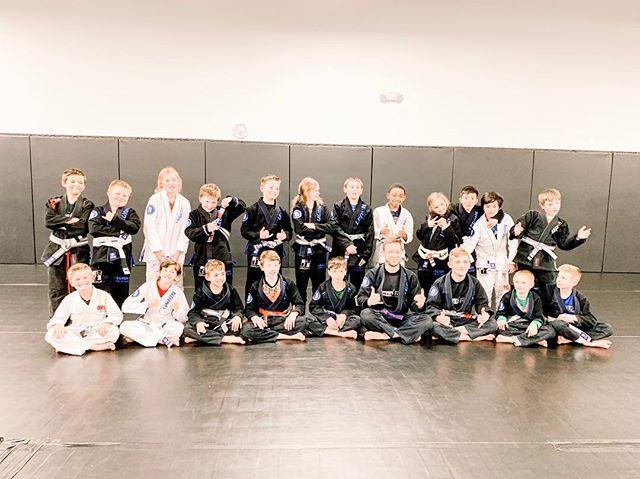 Legion Jiu Jitsu class
