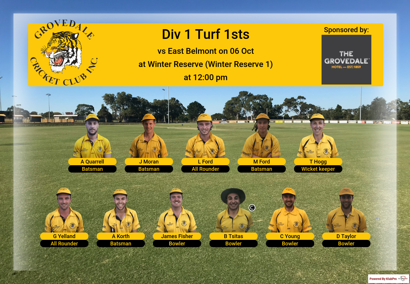 Team Lineup - Div1 Turf 1sts - 6 Oct.png