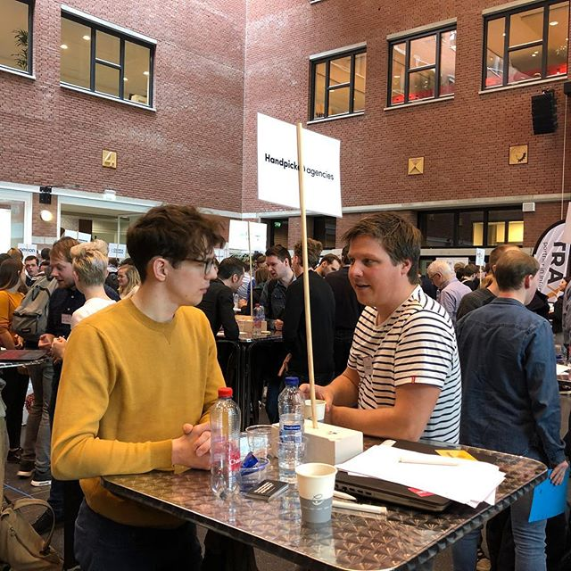 Speeddating a lot of talent @avanshogeschool Den Bosch!