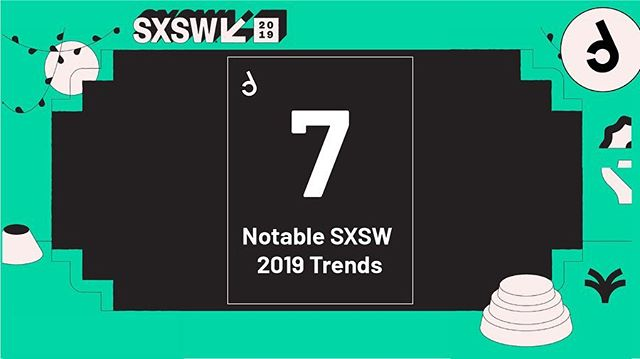 Last week @handpickedagencies Labs together with our friends at @esitesnl , @bluebirdday_nl , @greenhousegroup and @fontysict visited @sxsw in Austin, TX. In our blog we wrote about 7 Notable #sxsw2019 trends. Check bio for link or swipe right for a summary👌😀