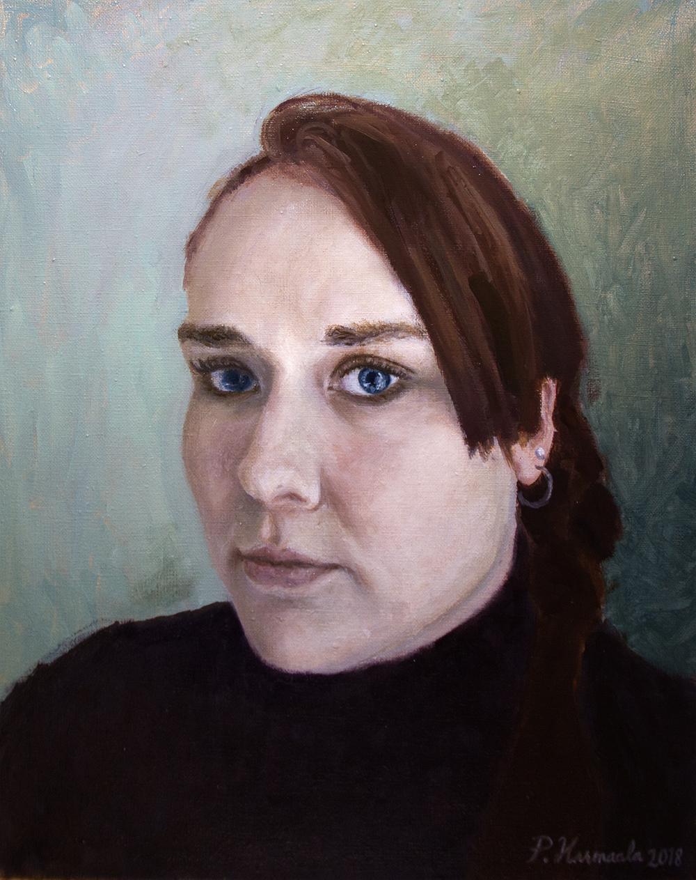 Pekka Harmaalan maalaus