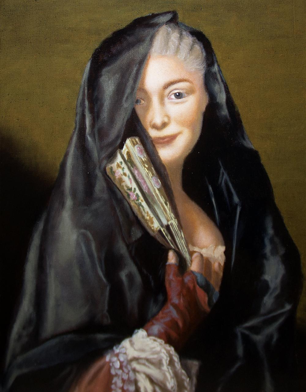 Marjo Yli-Paavolan maalaus