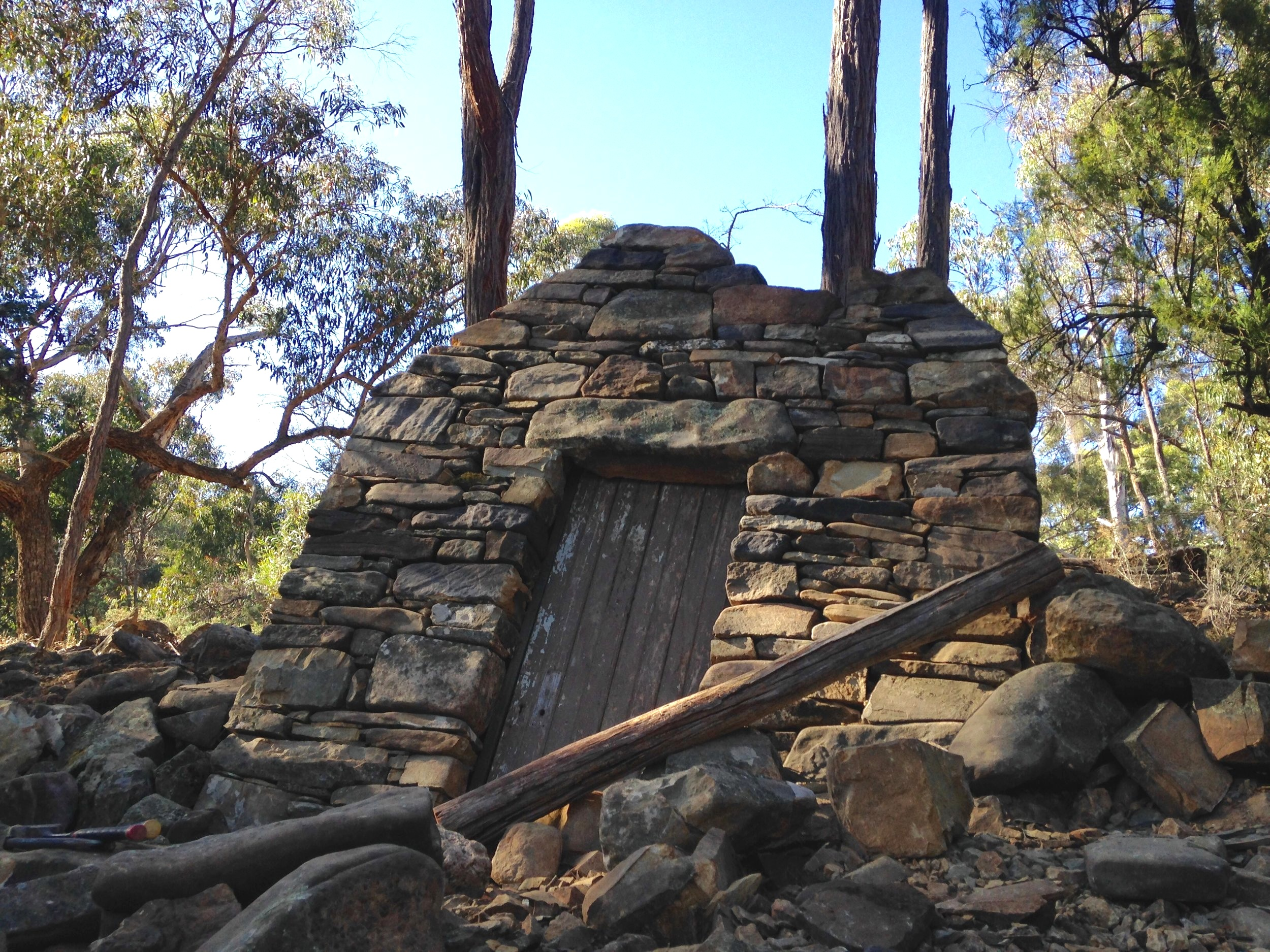 Art installation titled  Sunken Shack,  in Victoria, Australia. For more information see  Collaborations