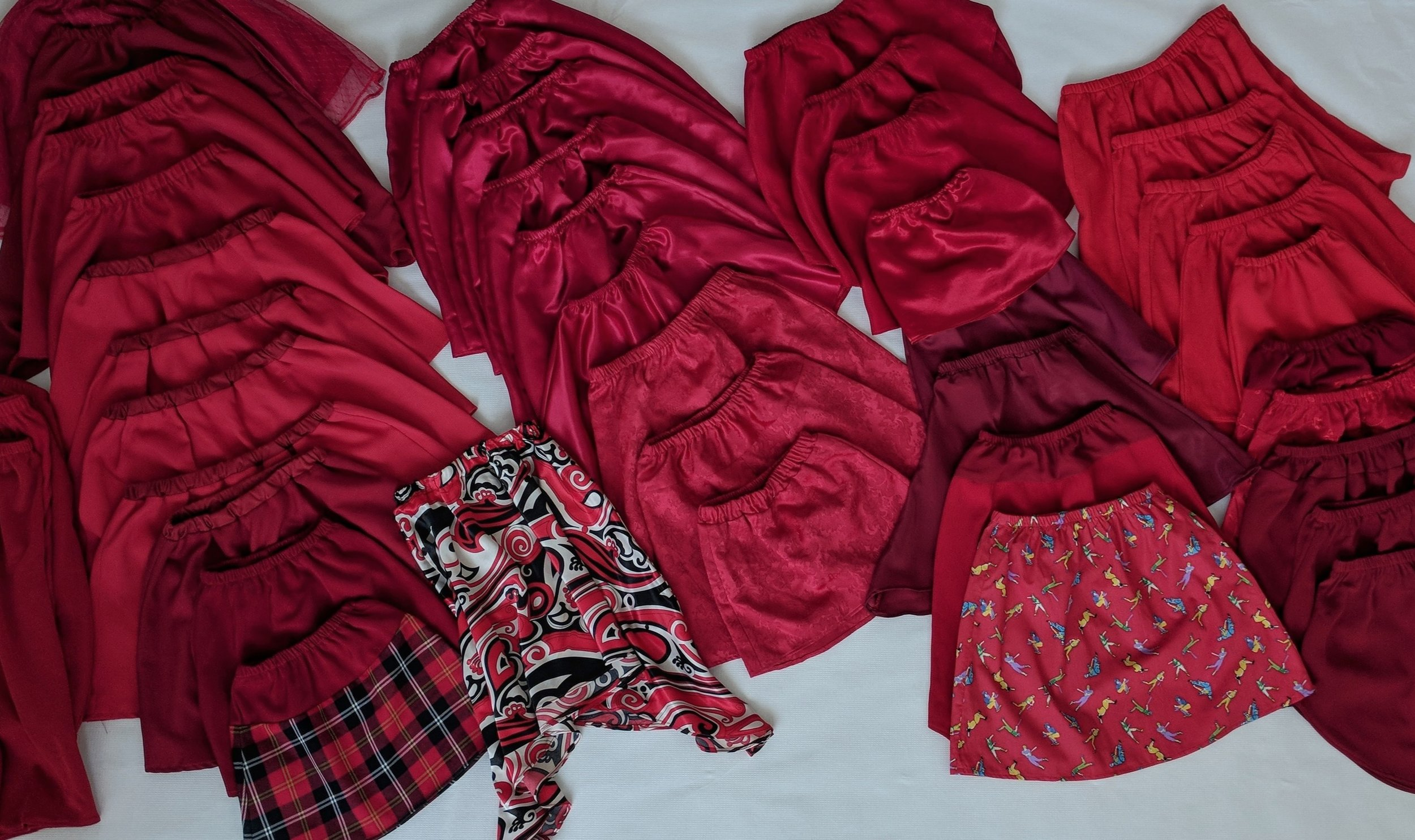 Sew Good Makes for Charity - They don't have to be fancy; an elasticized dirndl is quick and easy.