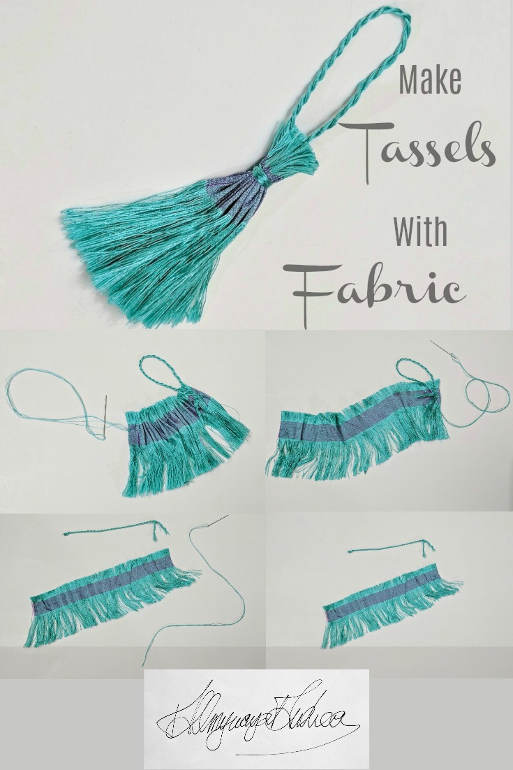 make-tassels-with-fabric-blue-silk