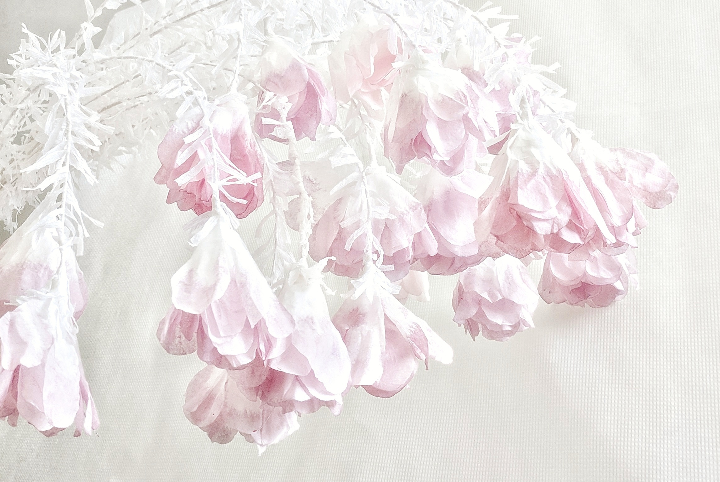 Fill Of Coffee Filters - More fillers; only, these have been manually awakened by hand and stems are covered. They are simple and pretty enough to use as wedding decorations or as wedding centrepieces.