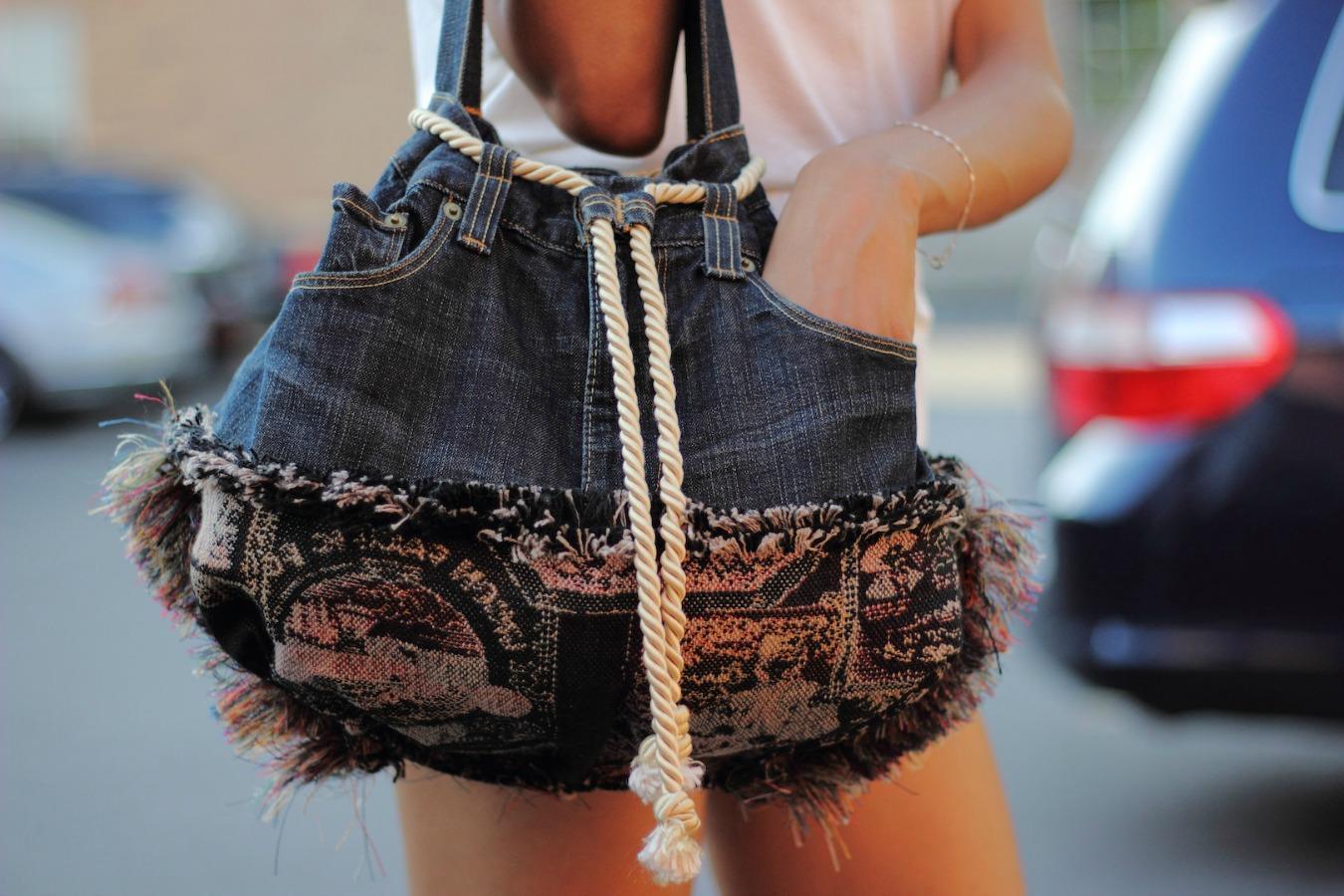 Diy Handmade Jeans Bag Ideas And Inspiration Allmywaysandrea