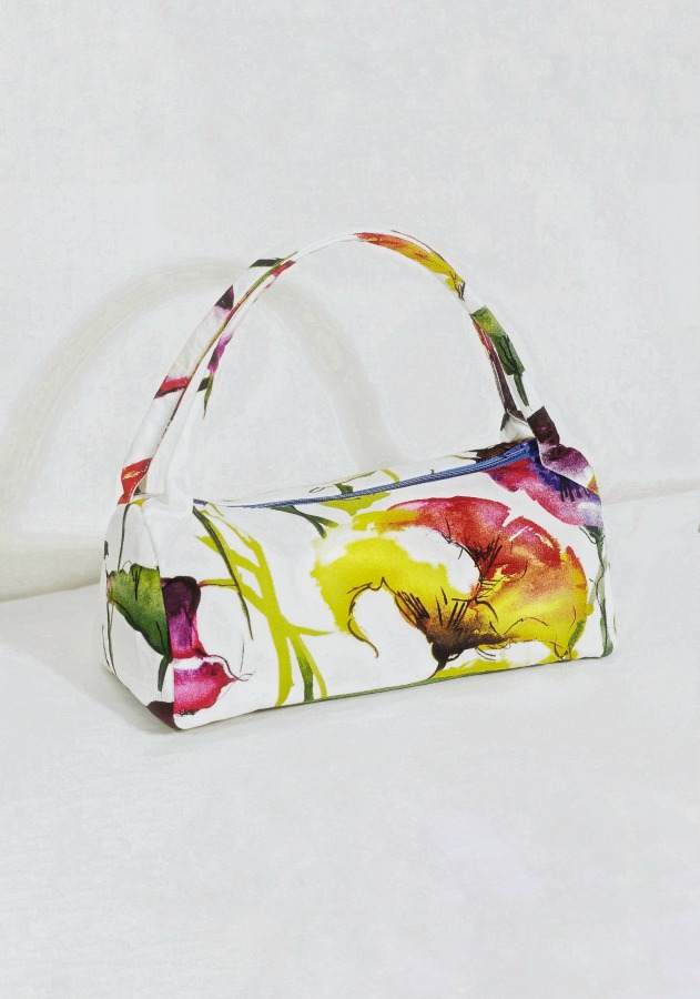 The Artist - A DIY handbag is an easy gift on any day. But don't wait. Make one for yourself one this summer. Choose from multiple sewing patterns, or dream up your own.