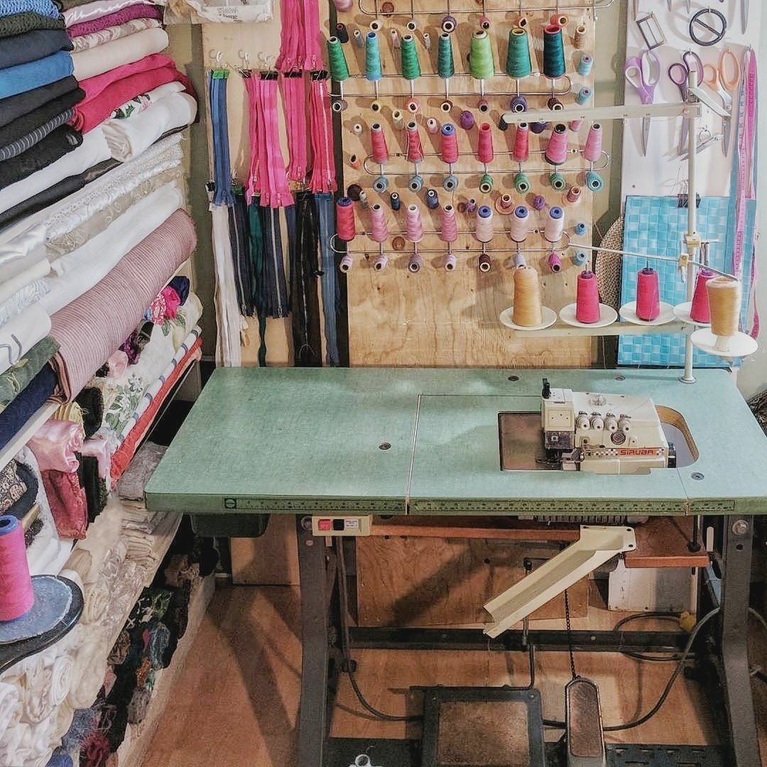 Always an Inflow of Craft supplies - I don't always get to do projects as promptly as I'd like to. For that reason, finding storage for materials can pose a challenge. Eventually, a lot of spaces get covered with crafting supplies.