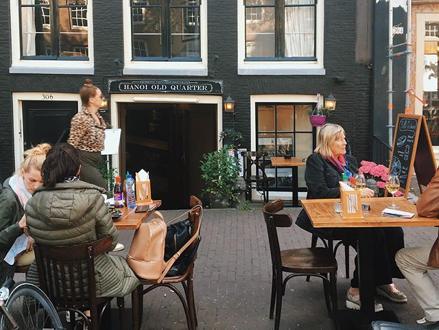 Tropical weather & terrace  Due to ,  warm weather this week we offers the terrace area tables from hours  13:30 - 22:00  So that guests can enjoy cool drinks , lunch , brunch and meals prepared fresh from our kitchen & grill for you : : : : : ; #amsterdammer #foodies #foodiesofinstagram #foodmagazines #foodporn #asianfoodporn #spicynoodles #amsterdamfood #seafoodporn #authentic💯 #homemad #freshfoods #restaurant #warmsteweek