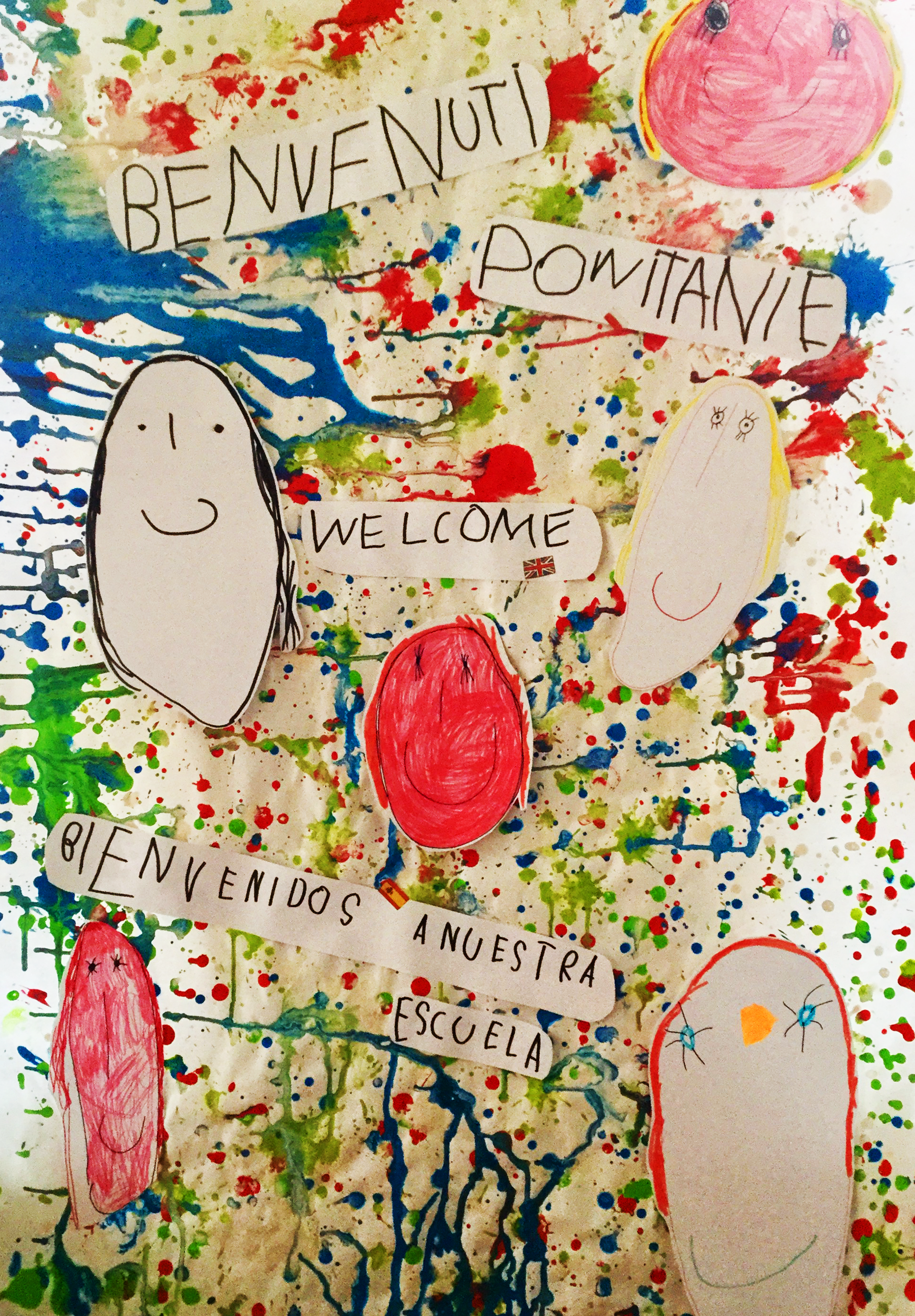 Welcome message from pupils at XXXXXXX school in Modena, Italy