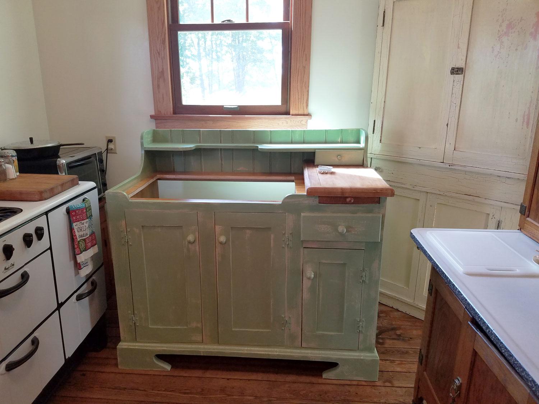 Dry Sink Installation