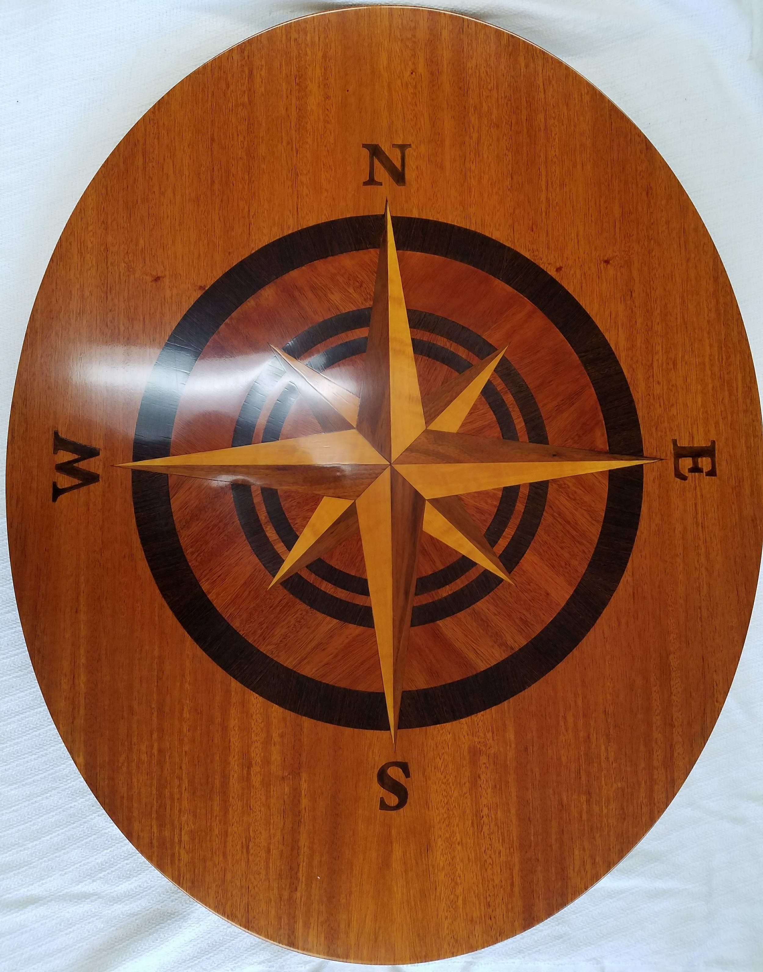 Compass Rose Table Top