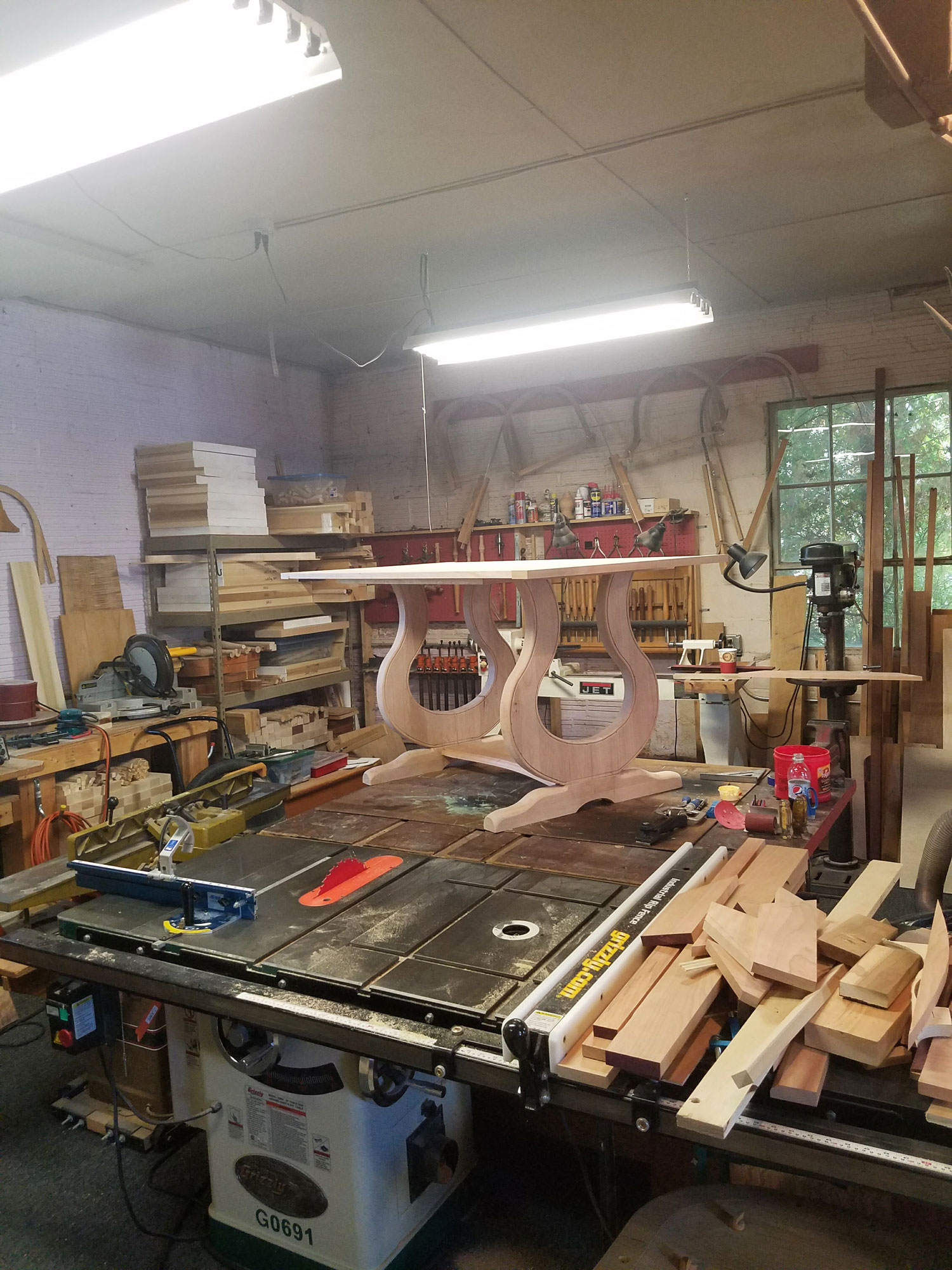 Harp Table Construction