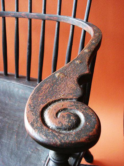 Shell Chair Detail