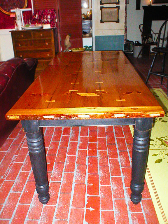 Maple and Milk Paint Table